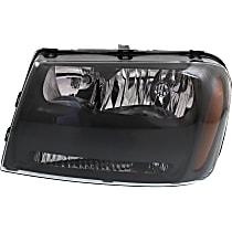Headlight - Driver Side, Black Trim, With Bulb(s)