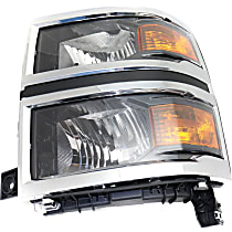 Driver Side Headlight, With bulb(s) - WT/LT Models