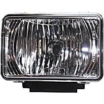Fog Light - Driver or Passenger Side, Lens and Housing