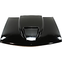 Cowl Hood - Steel, Primed, Ram Air Cowl, 2 in. Raised