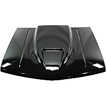 Cowl Hood - Steel, Primed, Ram Air Cowl, 2 in. Center Gap, Single