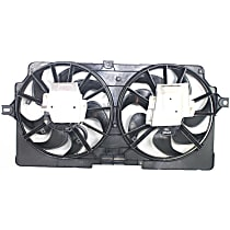 OE Replacement Radiator Fan - Fits 3.4L, STD Duty Cooling w/ Rear Air or HD Cooling