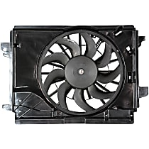 OE Replacement Radiator Fan - Fits 2nd Design