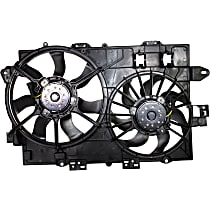 Radiator Fan Assembly, 3.4L Eng., Vehicles Prod. Date Up To 11/11/2007