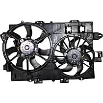 Radiator Fan Assembly, 3.4L Eng., Vehicles Prod. Date Up To 11/11/2007