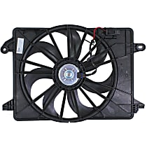 OE Replacement Radiator Fan - Single-type