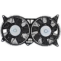 OE Replacement A/C Condenser Fan - Fits 3.6L/4.6L, w/ Tow Pckg. or HD Cooling, Mounts Behind Grille