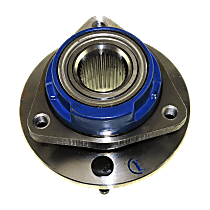 Front, Driver or Passenger Side Wheel Hub and Bearing Assembly, For Models with Non-ABS