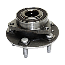 Wheel Hub With Ball Bearing - Sold individually Front, Driver or Passenger Side Rear, Driver or Passenger Side