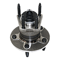 Rear Wheel Hub Bearing Assembly Driver or Passenger Side For FWD Models with 4-Wheel ABS
