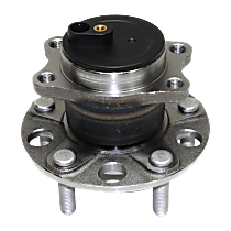 Rear Wheel Hub And Bearing Assembly, Driver or Passenger Side For FWD Models