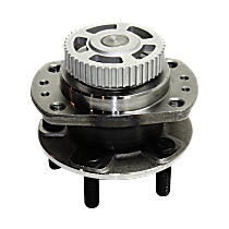 Rear Wheel Hub Bearing Assembly Driver or Passenger Side, For FWD Models with 14 in. Wheels