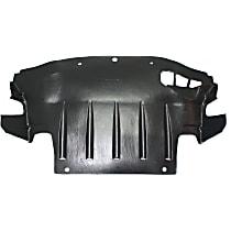 Center Engine Splash Shield - Under Cover, Sedan, AWD