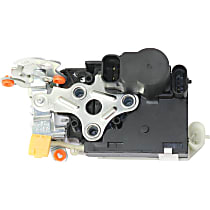 Door Lock Actuator - Front, Driver Side, with Keyless Entry