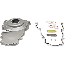 Timing Cover - Aluminum, 1-Piece, Direct Fit, Kit