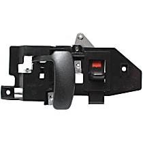 Interior Door Handle, Black Front or Rear, Passenger Side - Side Hinged or Back Door