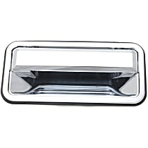 Rear, Passenger Side Exterior Door Handle, Chrome