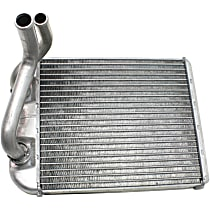Heater Core 8.25 x 7.12 x 1.38 in. Core, 0.75 in. Inlet, 0.62 in. Outlet