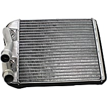 Heater Core 8.25 x 7.5 x 1.38 in. Core, 0.75 in. Inlet, 0.75 in. Outlet - For w/o Custom Floors Console