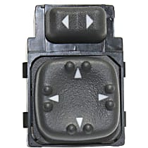 Mirror Switch - Direct Fit, Sold individually Front, Driver Side