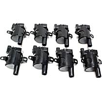 Ignition Coil, For Models with Round Type Coil