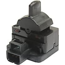 Replacement REPC505604 Door Lock Switch - Black, Plastic, Direct Fit, Sold individually