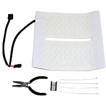Seat Heat Pad - Carbon Fiber, Direct Fit, Kit
