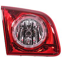 Driver Side, Inner Tail Light, With bulb(s) - Red Lens, Hybrid/LS/LT Models