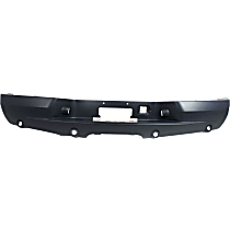 Bumper Cover - Rear, 1 Piece, Primed, For Models With Custom Bumper