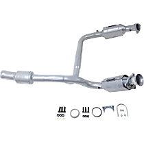 Catalytic Converter Front Y-Pipe, For Models with 4.3L V6 & 5.3L 4.8L and 6.0L V8 Engines California Emissions 47-State Legal (Cannot ship to CA, NY or ME)