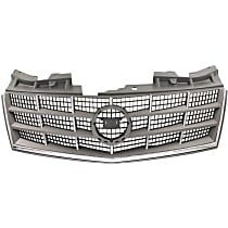 Grille Assembly - Gray Shell and Insert, without Adaptive Cruise Control