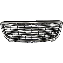 Grille Assembly - Chrome Shell with Textured Black Insert