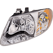 Driver Side Headlight, With bulb(s) - w/o Turn Signal Light Bulb, For Models with 113 inch Wheelbase