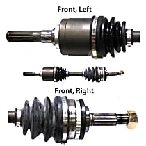 Front Driver Side Axle Assembly - New