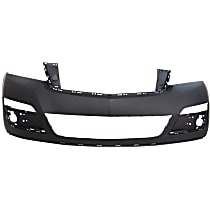 Front, Upper Bumper Cover, Primed, CAPA CERTIFIED