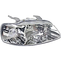 Passenger Side Headlight, Without bulb(s) - Hatchback/Sedan Models