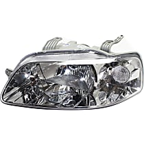 Driver Side Headlight, Without bulb(s) - Hatchback/Sedan Models