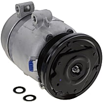 A/C Compressor, With clutch, 4-Groove Pulley; 5.7L