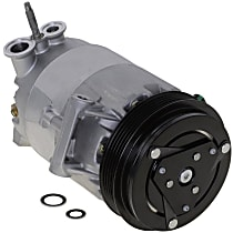 A/C Compressor, With clutch, 5-Groove Pulley; 2.2L