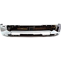 Bumper - Front, Chrome, without Fog Light Holes