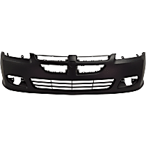 Front Bumper Cover, Primed, Coupe - 2003-2005 Dodge Stratus