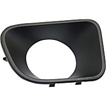 Passenger Side Grille Trim - Textured Black