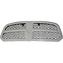 Grille Assembly - Painted Gray Shell with Textured Black Insert, Except Laramie Limited/Rebel Models