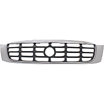 Grille Assembly - Chrome Shell with Gray Insert, DHS/DTS Model