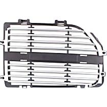 Grille Insert - Silver, Passenger Side, R/T/SXT Models