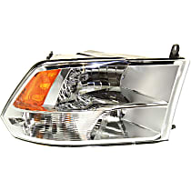 Passenger Side Headlight, With bulb(s) - Models with Quad Lamps