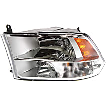 Driver Side Headlight, With bulb(s) - Models with Quad Lamps