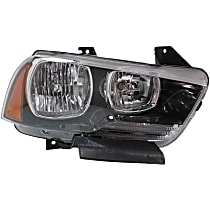Headlight - Passenger Side, Halogen, With Bulb(s), CAPA Certified