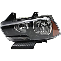 Headlight - Driver Side, Halogen, With Bulb(s)