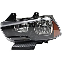 Headlight - Driver Side, Halogen, With Bulb(s), CAPA Certified